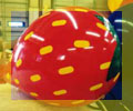 strawberry balloon - strawberry helium balloons for sale.